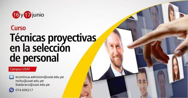 Curso: Técnicas Proyectivas en la Selección de Personal