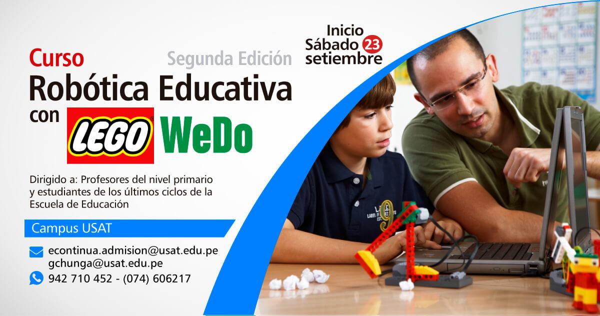 Curso: Robótica Educativa con Lego WeDO
