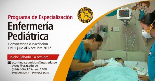 Programa de Especialización. Enfermería Pediátrica