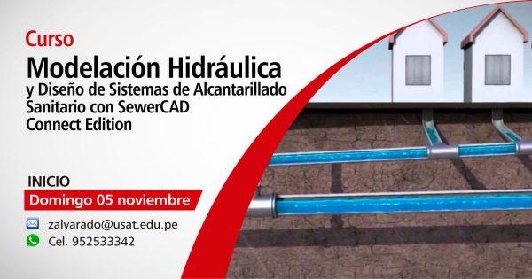 Curso. Modelación Hidráulica y Diseño de Sistemas de Alcantarillado Sanitario con WaterCAD Connect Edition
