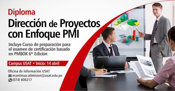 Diploma: Dirección de Proyectos con Enfoque PMI