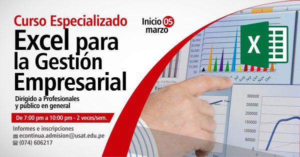 Curso Especializado. Excel para la Gestión Empresarial