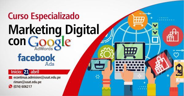 Marketing Digital para negocios con Google Adwords & Facebook Ads