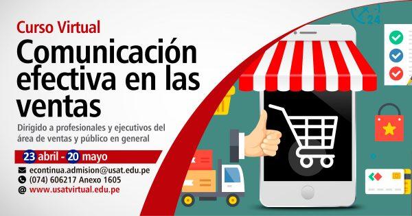 Curso Virtual. Comunicación efectiva en la ventas
