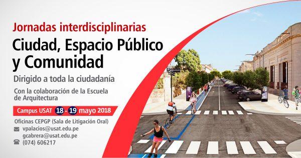 Jornadas interdisciplinarias. Ciudad, espacio público y comunidad