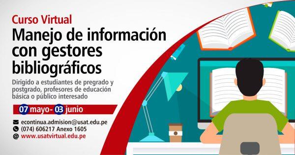Curso Virtual. Manejo de información con gestores bibliográficos