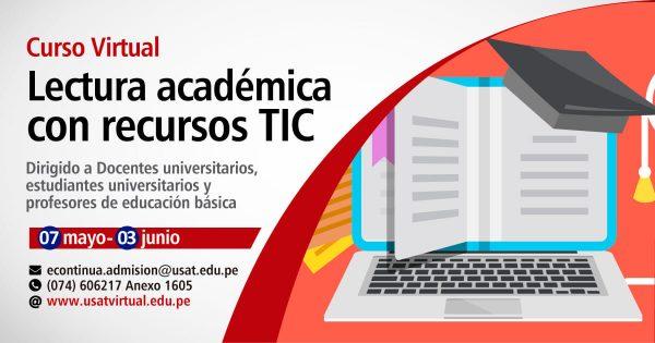 Curso Virtual. Lectura Académica con Recursos TIC