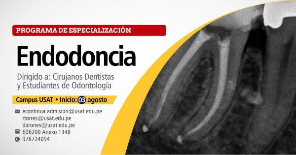 Programa de especialización en Endodoncia