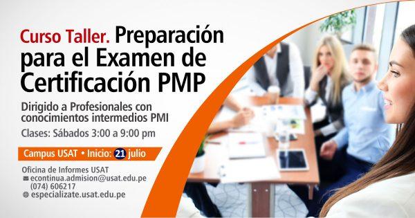 Curso Taller Preparación para el examen de certificación PMP