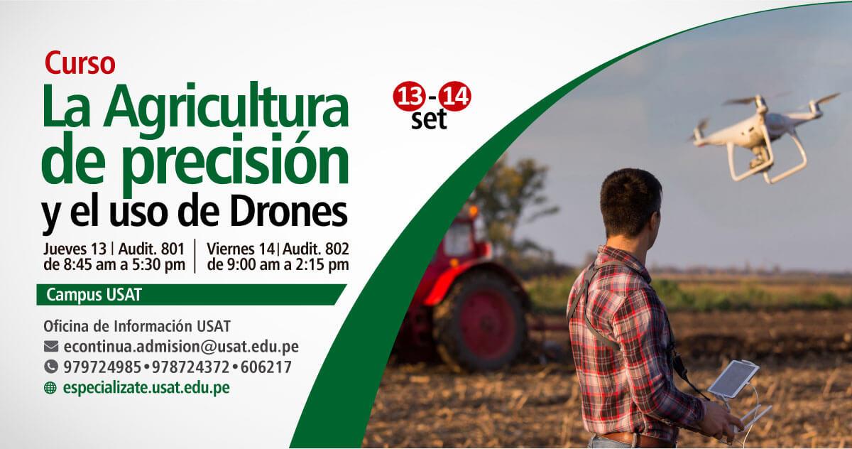 * Curso. La Agricultura de Precisión y uso de Drones