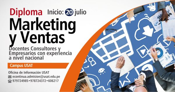 Diploma. Marketing y Ventas