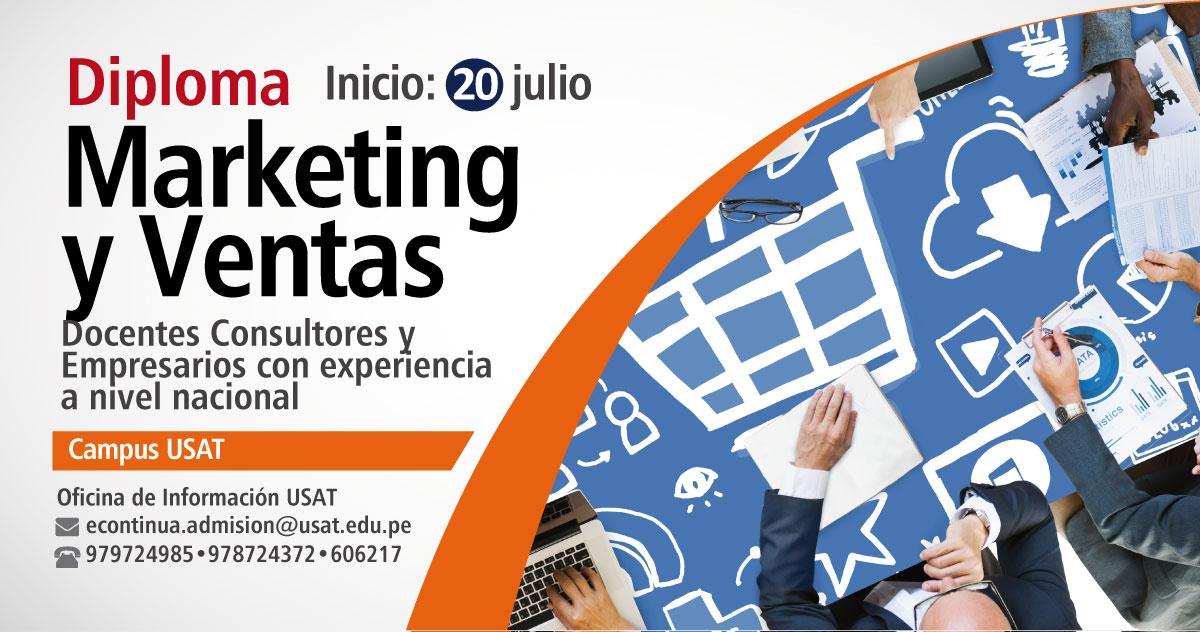 * Diploma. Marketing y Ventas