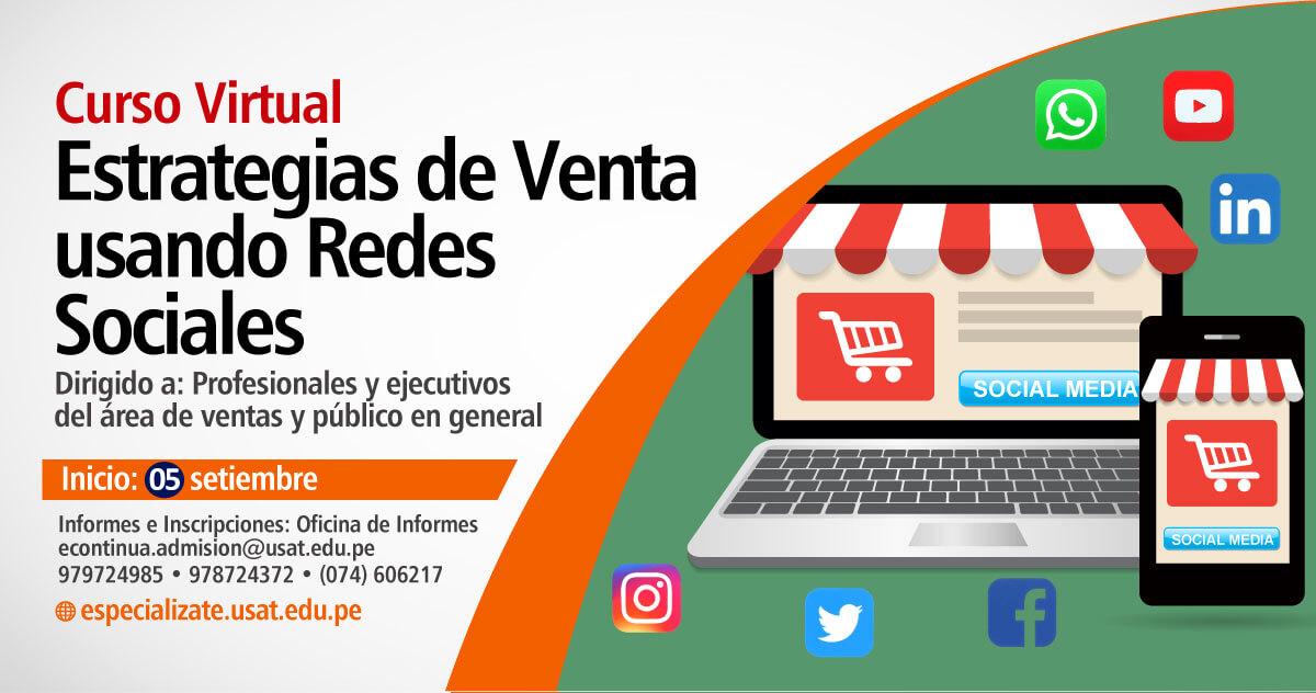 Curso Virtual. Estrategias de Venta usando Redes Sociales