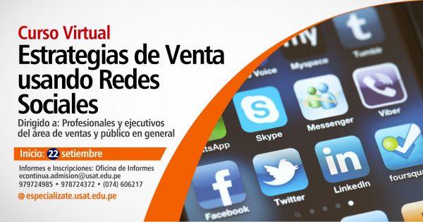* Curso Virtual. Estrategias de Venta usando Redes Sociales