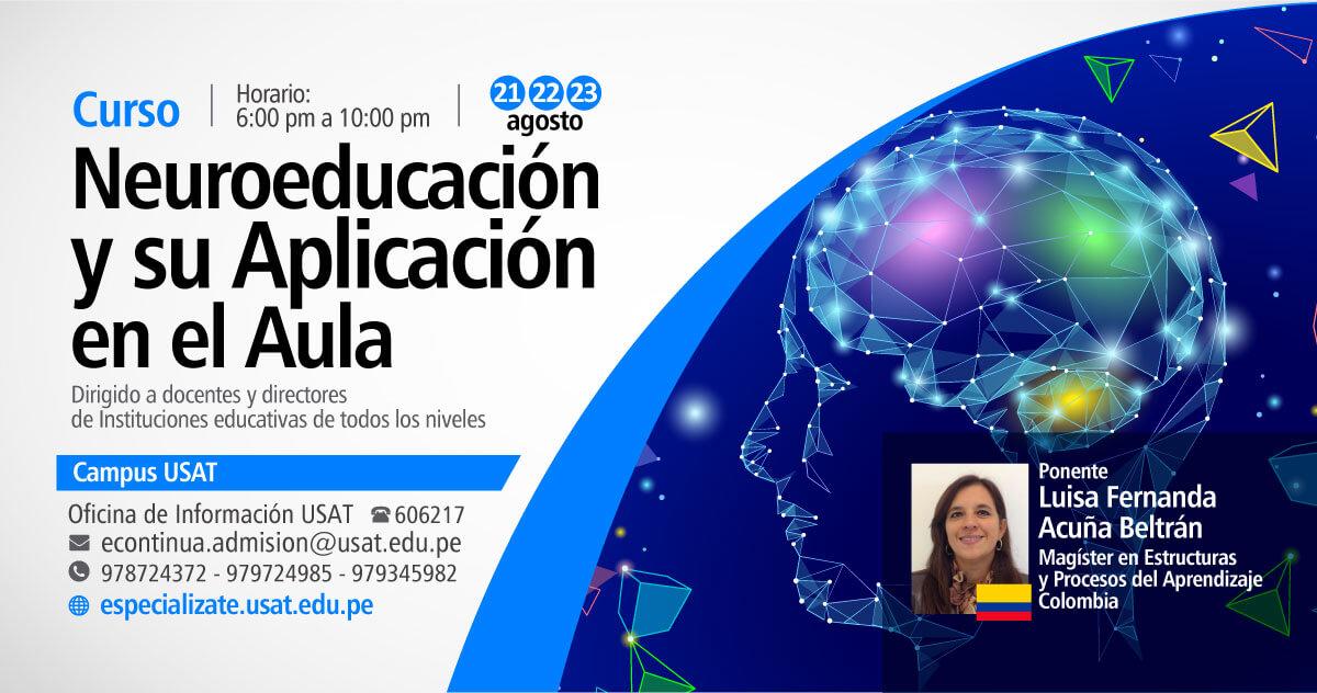 * Curso. Neuroeducación y su aplicación en el aula