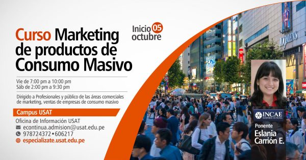 * Curso. Marketing de productos de Consumo Masivo