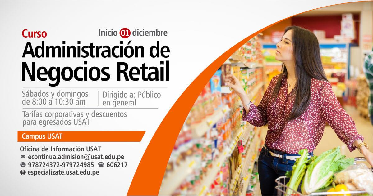 * Curso. Administración de Negocios Retail