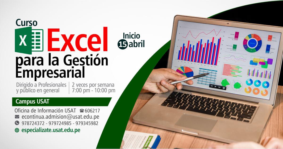 Curso. Excel para la Gestión Empresarial