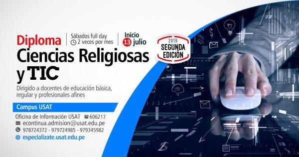 Diploma Ciencias Religiosas y TIC