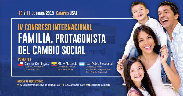 IV Congreso Internacional de la Familia. Familia, protagonista del cambio social