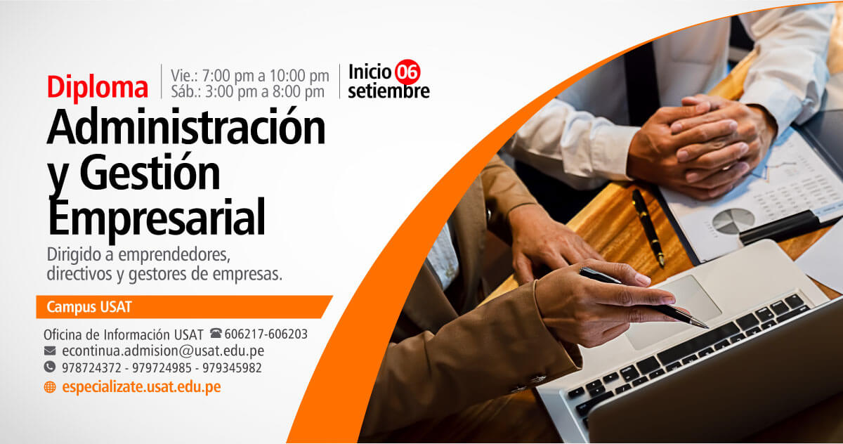 Diploma en Administración y Gestión Empresarial