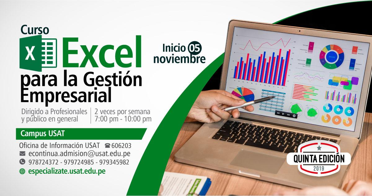 * Curso. Excel para la Gestión Empresarial