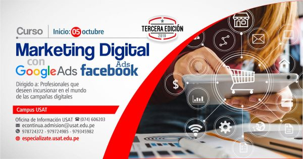 Marketing Digital con Google Ads & Facebook Ads