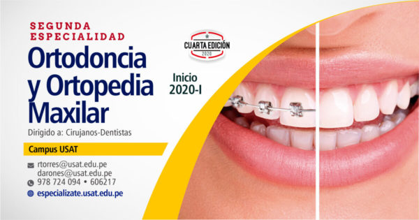 Segunda Especialidad: Ortodoncia y Ortopedia Maxilar