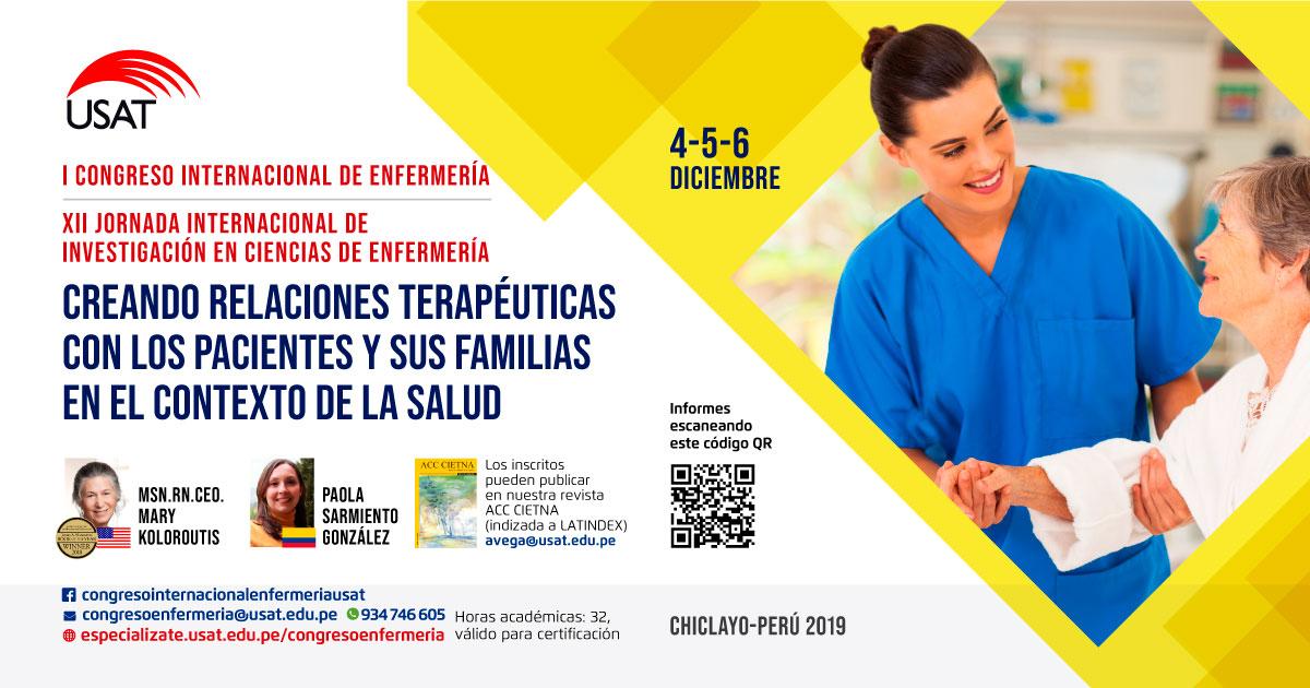 I Congreso y XII Jornada Internacional de Enfermería