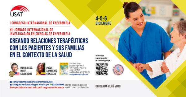 I Congreso Internacional de Enfermería – XII Jornada Internacional de Investigación en Ciencias de Enfermería