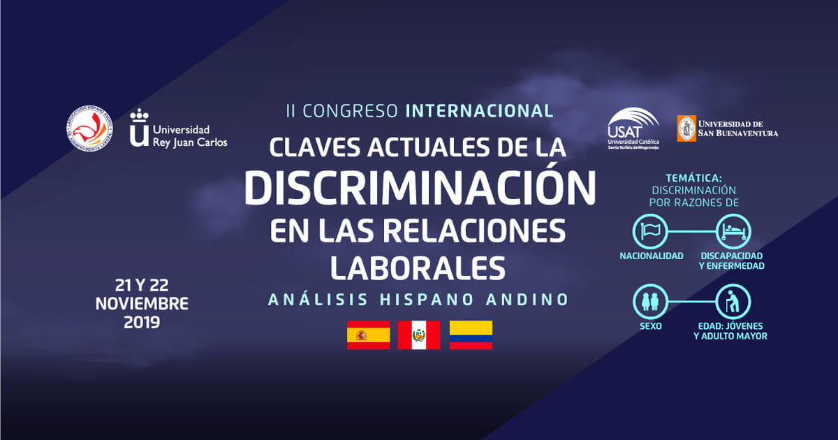 * Claves actuales de la discriminación en la relaciones laborales – Análisis Hispano Andino