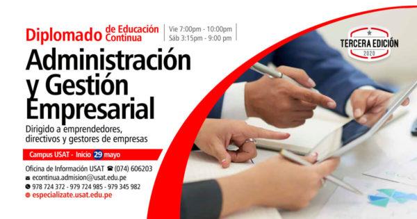 Diplomado en Administración y Gestión Empresarial