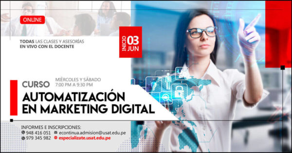 (No vigente) Curso Online: Automatización en Marketing digital