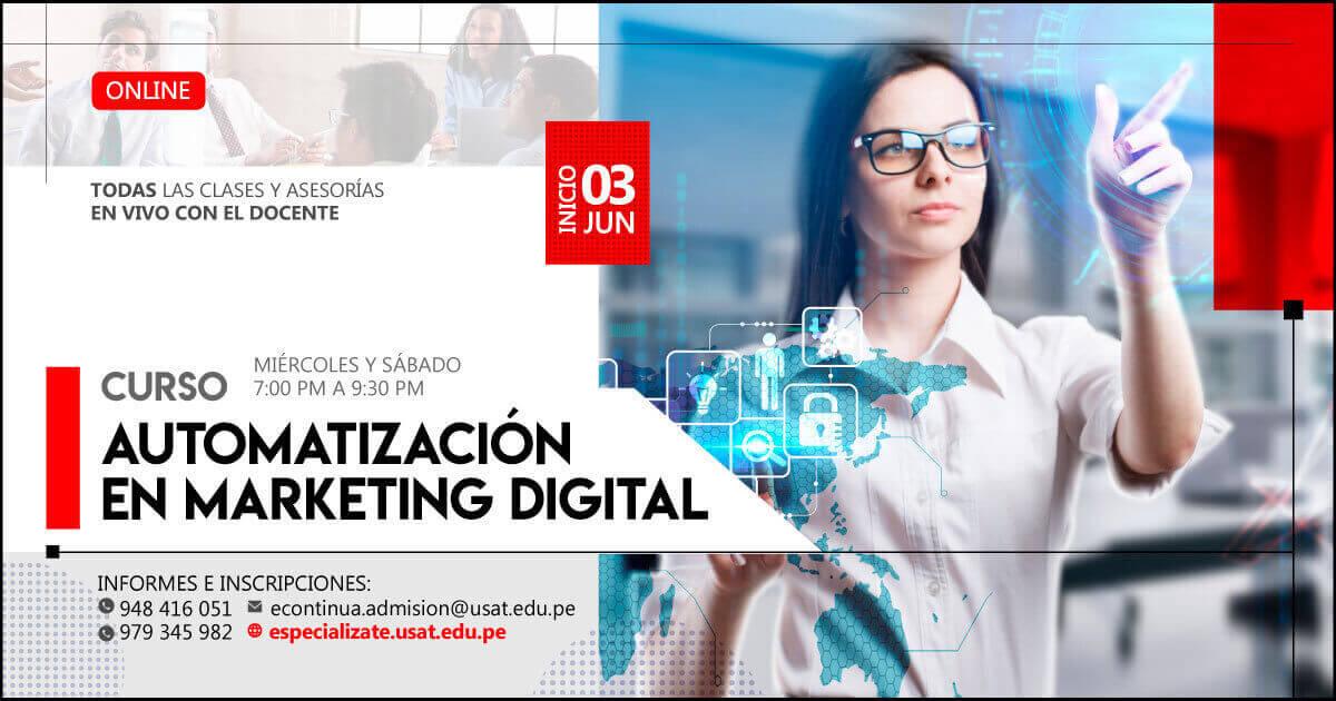 (No vigente) Curso Online: Automatización en Marketing digital