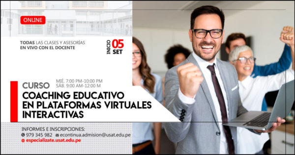 (NO VIGENTE) Curso Online – Coaching Educativo en plataformas virtuales interactivas