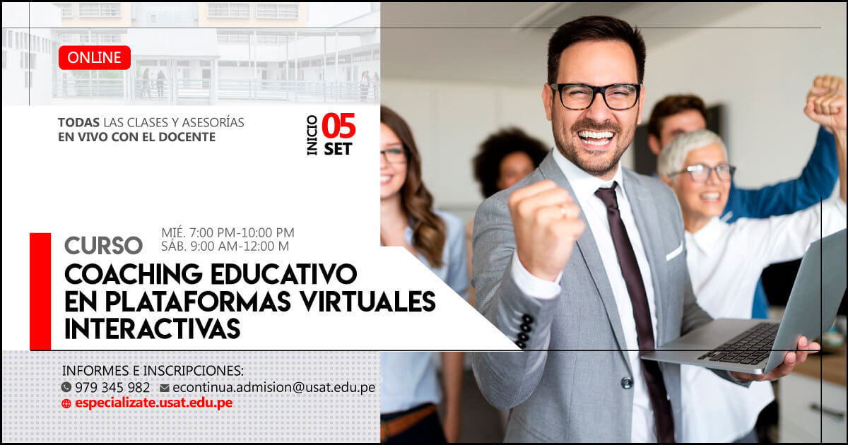 Curso Online – Coaching Educativo en plataformas virtuales interactivas