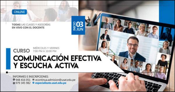 Curso online: Comunicación efectiva y Escucha activa.