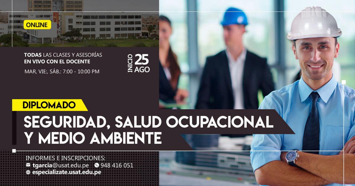 Diplomado de Educación Continua en Seguridad, Salud Ocupacional y Medio Ambiente