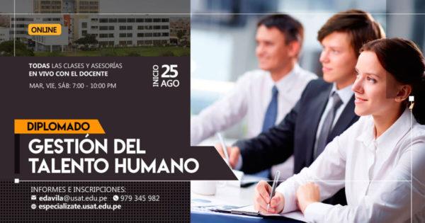 Diplomado de Educación Continua en Gestión del Talento Humano.