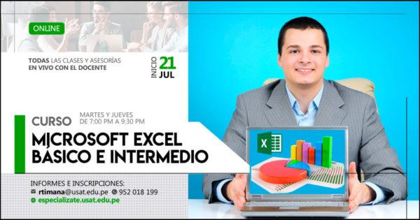 Curso Online. Microsoft Excel básico e intermedio