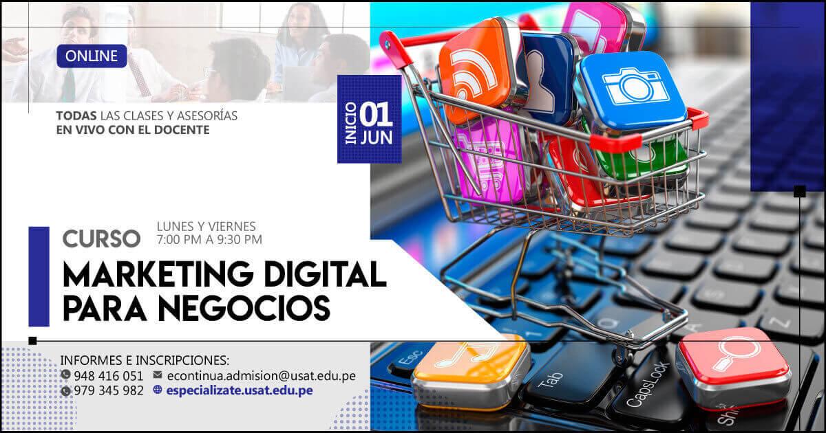 (No vigente) Curso Online: Marketing Digital para Negocios