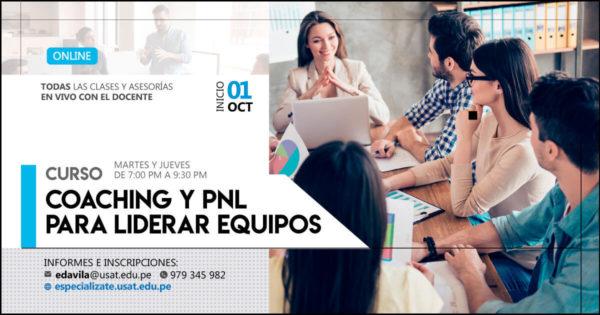 Curso Online. Coaching y PNL para liderar equipos