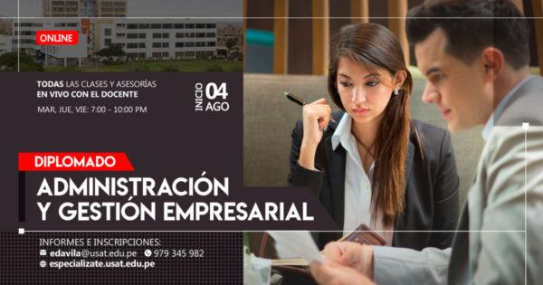 Diplomado de Educación Continua en Administración y Gestión Empresarial