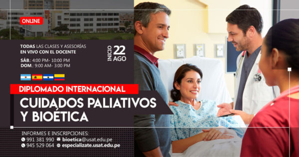Diplomado Internacional en Cuidados Paliativos y Bioética