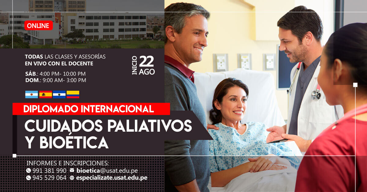 (No vigente) Diplomado Internacional en Cuidados Paliativos y Bioética