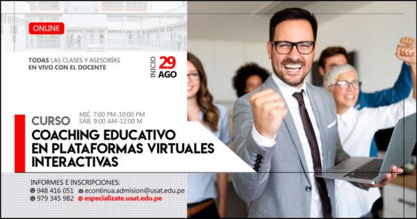 Curso Online – Coaching Educativo en plataformas virtuales interactivas