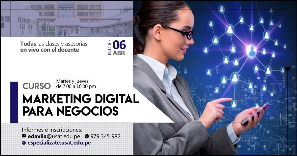 (no vigente) Curso: Marketing Digital para Negocios