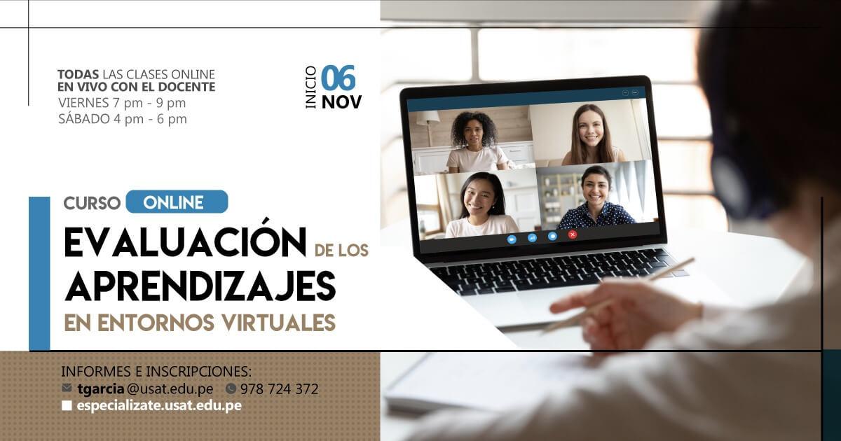 (NO VIGENTE) Evaluación de los aprendizajes en entornos virtuales