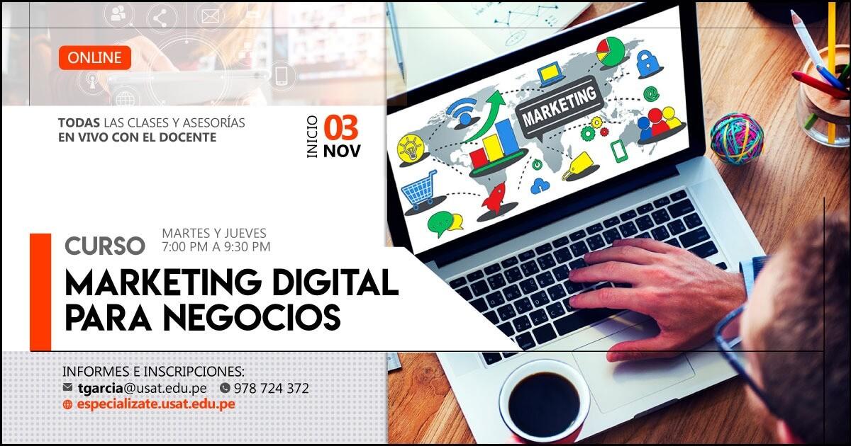Curso Online: Marketing Digital para Negocios