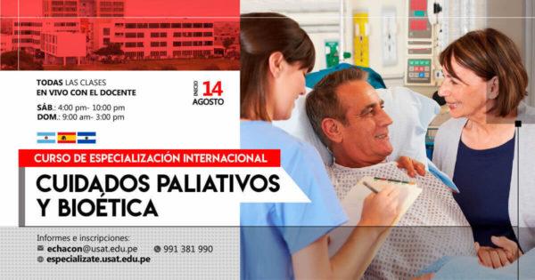 (NO VIGENTE) Curso de Especialización Internacional. Cuidados Paliativos y Bioética